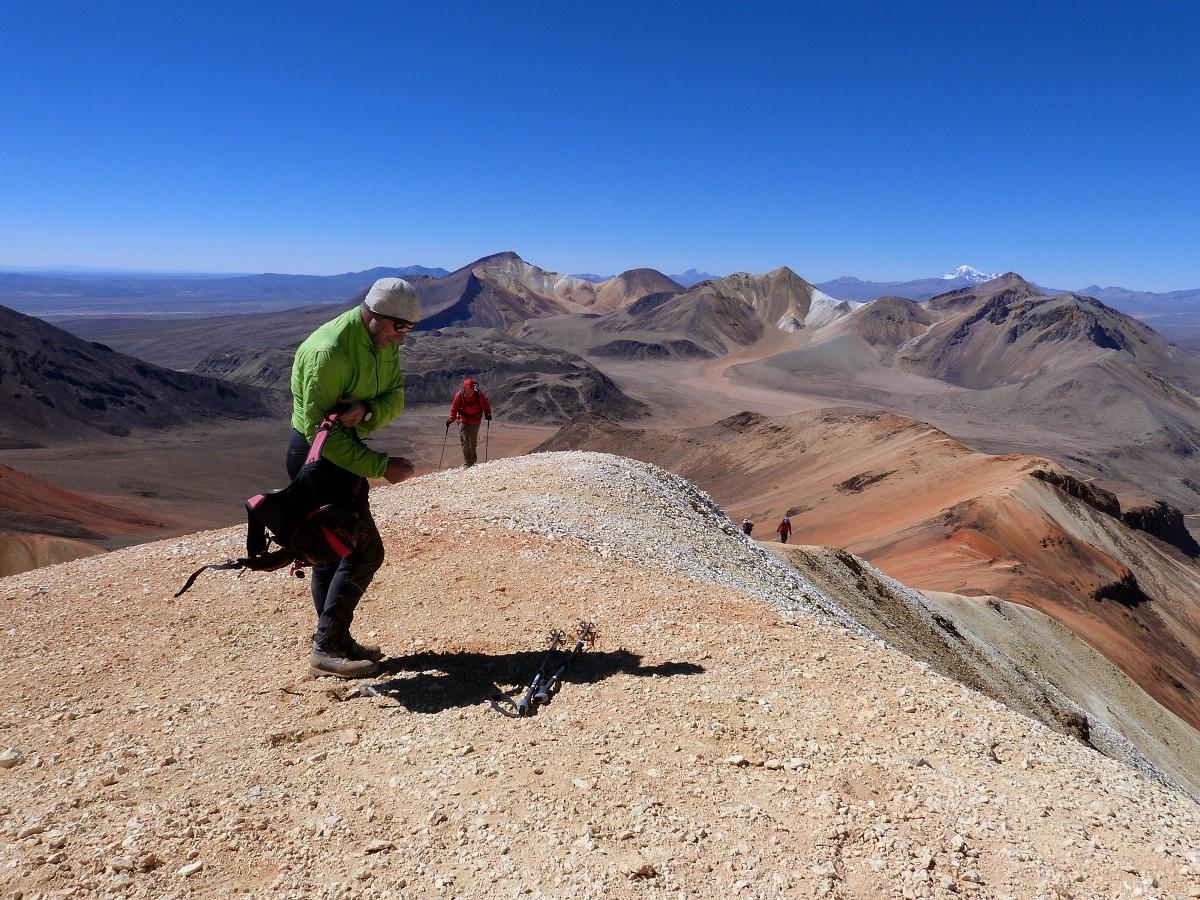 Chile Suriplaza Cerro Cosapilla