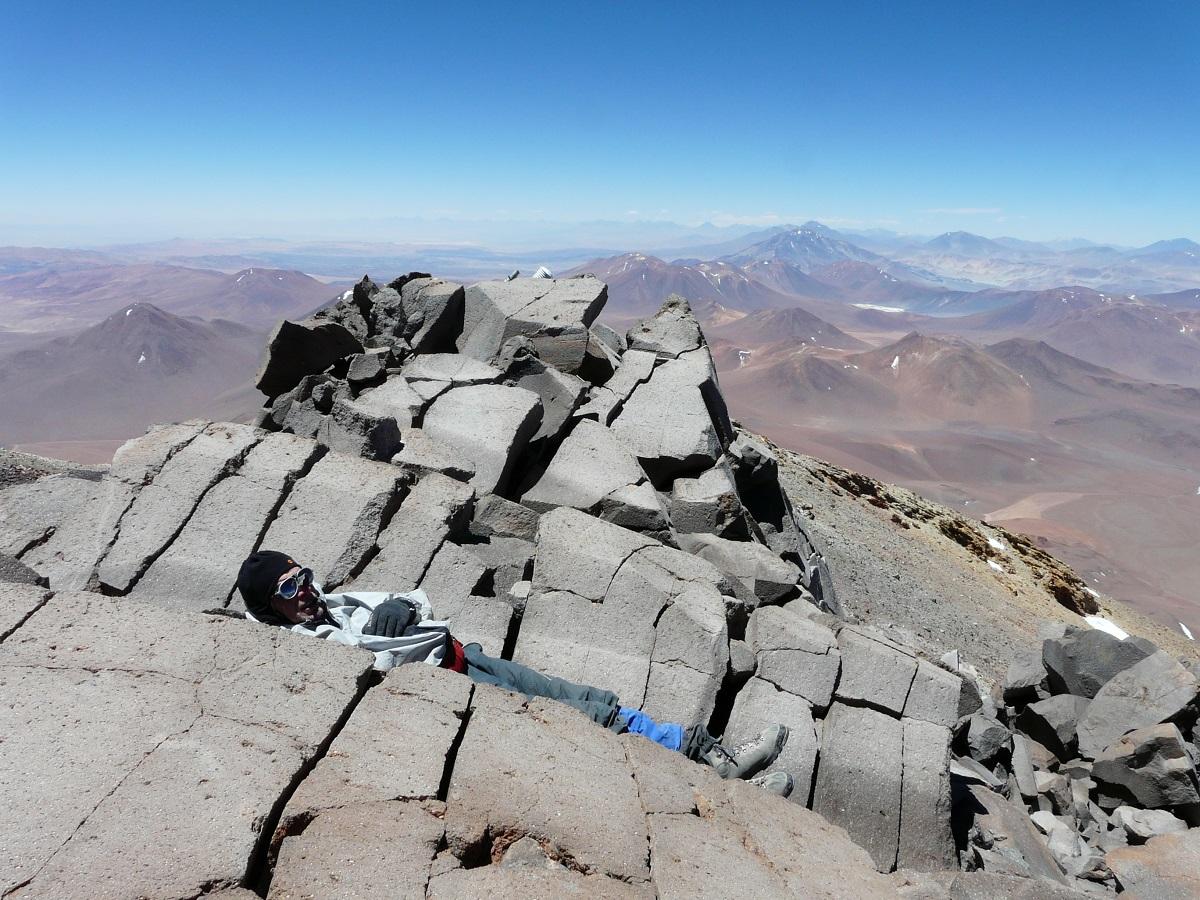 llullaillaco - einer der heiligsten Berge der Inka